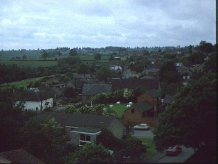 View From Ravensthorpe Church Tower 1986