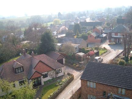 Village View from Church Tower 2011